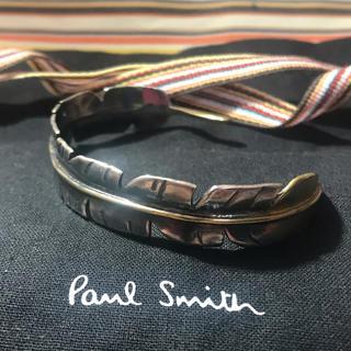 ポールスミス(Paul Smith)の美品 ポールスミス フェザーバングル(バングル/リストバンド)