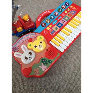 ミキハウス(mikihouse)のミキハウス ピアノ&おもちゃセット(楽器のおもちゃ)