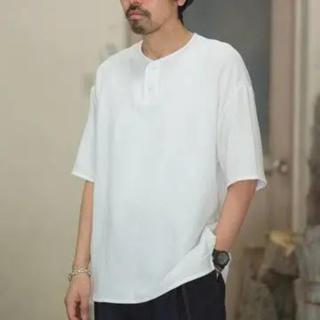 コモリ(COMOLI)のグラフペーパー ヘンリーネック(Tシャツ/カットソー(半袖/袖なし))