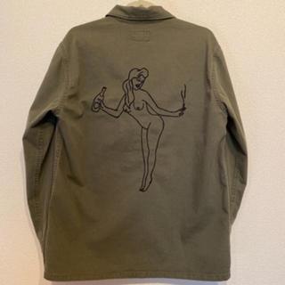 ワコマリア(WACKO MARIA)の美品 WACKOMARIA ワコマリア 天国東京 ARMY ジャケット シャツ (ミリタリージャケット)