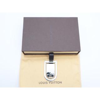ルイヴィトン(LOUIS VUITTON)の《LOUIS VUITTON/パンスアビエポルトアドレスマネークリップ》袋、箱有(マネークリップ)