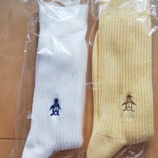 マンシングウェア(Munsingwear)のマンシング靴下 2足(ソックス)