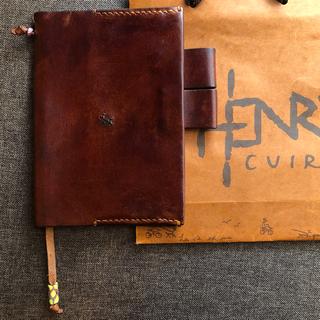 エンリーべグリン(HENRY BEGUELIN)の【いくみんさま専用】アンリークイール ほぼ日手帳カバー(手帳)