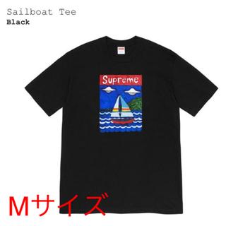 シュプリーム(Supreme)のsupreme sailboat T black size M 評価あり(Tシャツ/カットソー(半袖/袖なし))