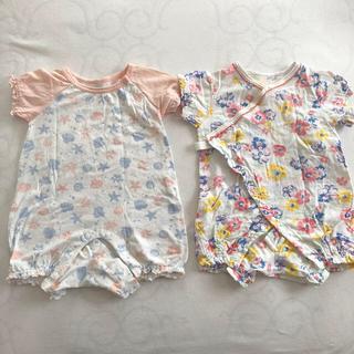 コンビミニ(Combi mini)の【バラ売り可】ベビーパジャマ 女の子用 2枚セット(パジャマ)