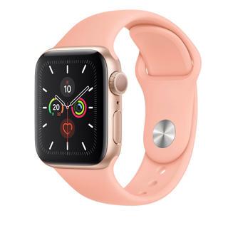 アップルウォッチ(Apple Watch)のAPPLE WATCH Series 5 40mm(GPSモデル)ゴールド(腕時計(デジタル))