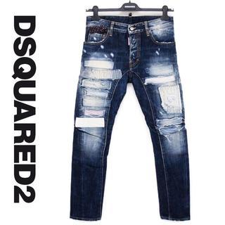 ディースクエアード(DSQUARED2)のDSQUARED2  TIDY BIKER JEANS  デニム size 44(デニム/ジーンズ)