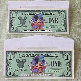 ディズニー(Disney)のディズニーダラー 2枚セット(その他)