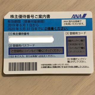 エーエヌエー(ゼンニッポンクウユ)(ANA(全日本空輸))の全日空株主優待券(航空券)