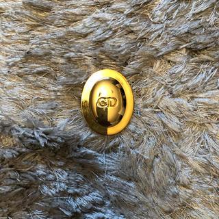 クリスチャンディオール(Christian Dior)のChristian Dior非売品ブローチゴールド(ブローチ/コサージュ)