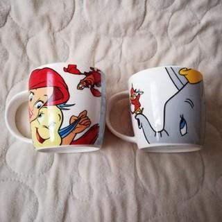 Disney - Disney STORE  ディズニーストアー アリエル&ダンボマグカップセット
