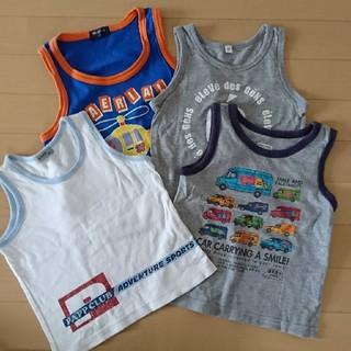 95-100㎝ 男の子 まとめうり 夏服 半袖 夏服セット ランニング 格安!(Tシャツ/カットソー)