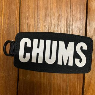 チャムス(CHUMS)のCHUMSロゴパスケース(名刺入れ/定期入れ)