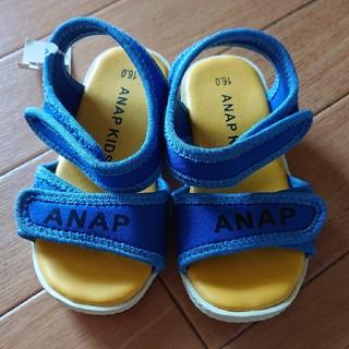 アナップキッズ(ANAP Kids)の新品 ANAP サンダル(サンダル)