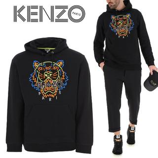 ケンゾー(KENZO)の1 KENZO タイガー刺繍 プルオーバーパーカー size S(パーカー)