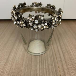 フランフラン(Francfranc)のフランフラン ガラス キャンドルホルダー 小物立て(その他)