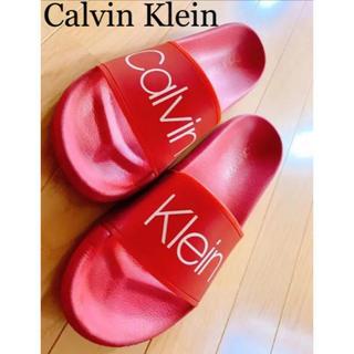 カルバンクライン(Calvin Klein)の超美品★カルバンクライン ブランド メンズ ビーチサンダル(サンダル)