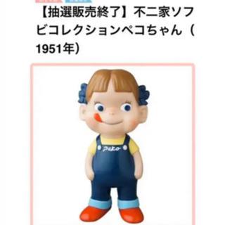フジヤ(不二家)のぺこちゃん ソフビ人形(キャラクターグッズ)