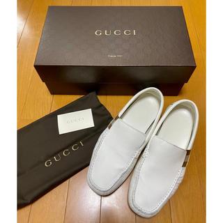 グッチ(Gucci)の★GUCCI★レザードライビングシューズ(スリッポン/モカシン)