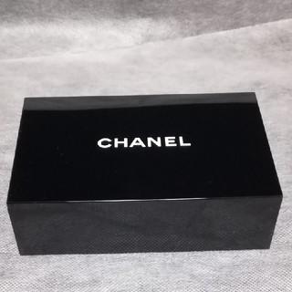 シャネル(CHANEL)のCHANEL  ミラー付き♡ジュエリーボックス  非売品(小物入れ)