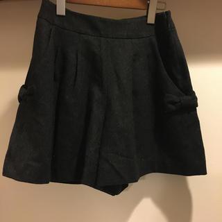 クチュールブローチ(Couture Brooch)のCouture brooch ショートパンツ リボン キュロット(キュロット)