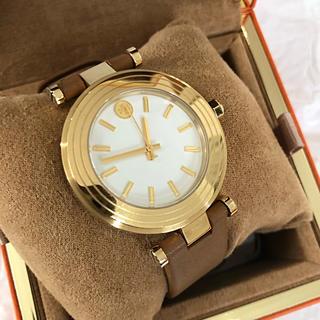 トリーバーチ(Tory Burch)の美品 トリーバーチ  お洒落なバックルゴールド腕時計(腕時計)