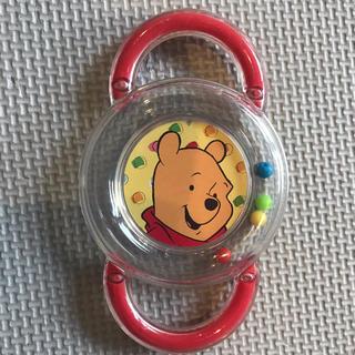 ディズニー(Disney)のくまのプーさん おもちゃ ベビー ラトル ガラガラ ディズニー 知育おもちゃ(がらがら/ラトル)