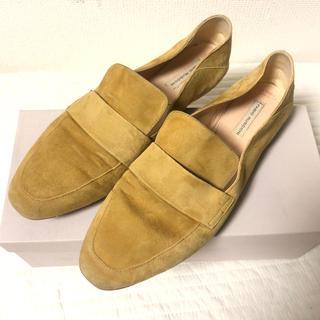 イエナ(IENA)のFabioRusconi ファビオルスコーニ スウェードローファー(ローファー/革靴)
