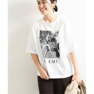 イエナ(IENA)のIENA paris photo Tシャツ(Tシャツ/カットソー(半袖/袖なし))