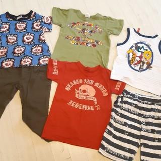 カステルバジャック(CASTELBAJAC)のまとめ★6枚セット★男の子 半袖 Tシャツ★ズボン(Tシャツ/カットソー)