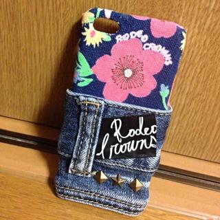 ロデオクラウンズ(RODEO CROWNS)のロデオリメイクiPhone5cケース(スマホケース)