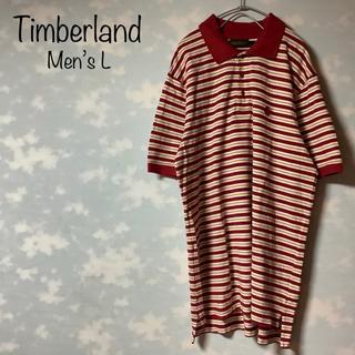 ティンバーランド(Timberland)のTimberland ポロシャツ ボーダー柄 ビッグシルエット オーバーサイズ(ポロシャツ)
