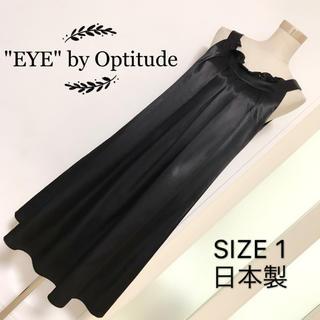"""オプティチュード(Optitude)の""""EYE"""" by Optitude ドレス ワンピース(ひざ丈ワンピース)"""