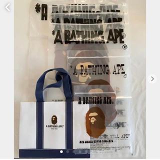 アベイシングエイプ(A BATHING APE)のA BATHING APE ショップ袋セット(エコバッグ)