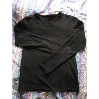 ダブルジェーケー(wjk)のwjk コットンストレッチ ロングTシャツ(Tシャツ/カットソー(七分/長袖))
