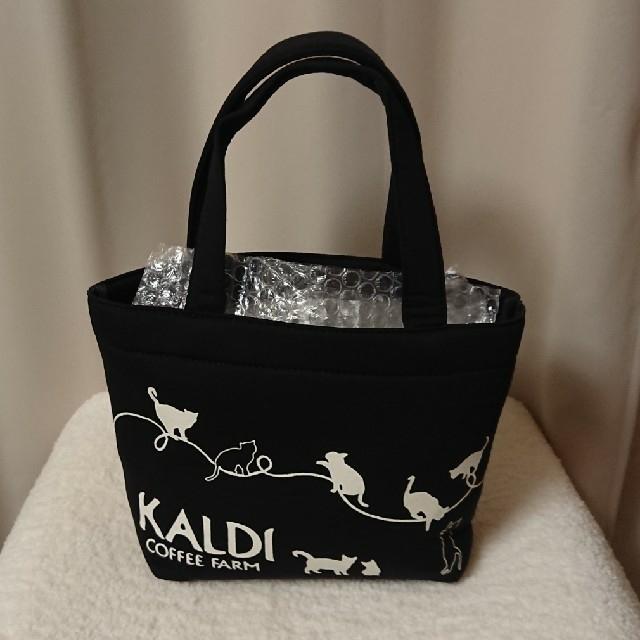 KALDI(カルディ)のカルディ ネコの日バッグ ティートレイ 2019  レディースのバッグ(トートバッグ)の商品写真