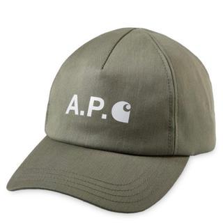 アーペーセー(A.P.C)の【完売商品】APC carharrt wip コラボ ベースボールキャップ 56(キャップ)