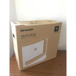 SHARP - シャープ 加湿セラミックファンヒーター HX-G120-W