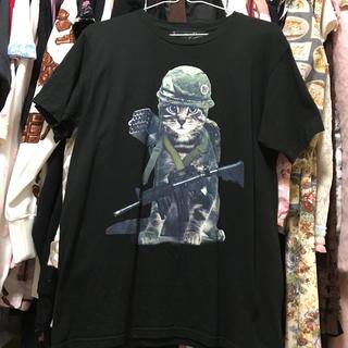 ミルクボーイ(MILKBOY)のMILKBOY*cat army Tシャツ(Tシャツ/カットソー(半袖/袖なし))