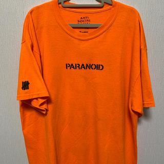 アンチ(ANTI)のanti social social club × undefeated (Tシャツ/カットソー(半袖/袖なし))