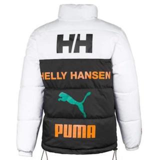 プーマ(PUMA)のPUMA & HELLY HANSEN ダウンジャケット(ダウンジャケット)