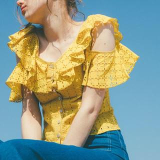 ハニーミーハニー(Honey mi Honey)のコットンオフショルダーブラウス(シャツ/ブラウス(半袖/袖なし))