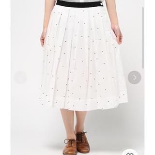 マーガレットハウエル(MARGARET HOWELL)のマーガレットハウエル ランダムドットスカート(ひざ丈スカート)