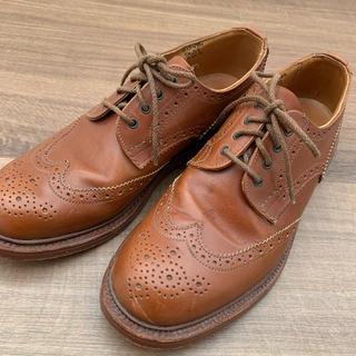 トリッカーズ(Trickers)のTricker's トリッカーズ ブーツ ローファー 革靴 茶色 本革 24(ローファー/革靴)