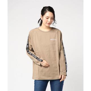 ミルクフェド(MILKFED.)のミルクフェド LOGO TAPE LS TEE(Tシャツ(長袖/七分))