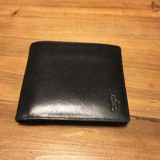 ポロラルフローレン(POLO RALPH LAUREN)のラルフローレン折財布ブラック(財布