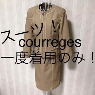 クレージュ(Courreges)の★courreges/クレージュ★一度着用のみ★ジャケットワンピーススーツ9AR(スーツ)