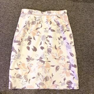 アプワイザーリッシェ(Apuweiser-riche)のApuweiser-riche 花柄スカート1(ひざ丈スカート)