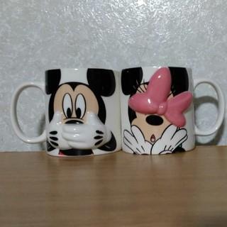 ディズニー(Disney)の♥ペアマグカップ♥ Disney♥ミッキー&ミニー(グラス/カップ)