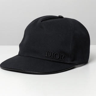 ディオールオム(DIOR HOMME)のdior homme  ロゴ刺繍 コットン ベースボールキャップ 帽子 900(キャップ)